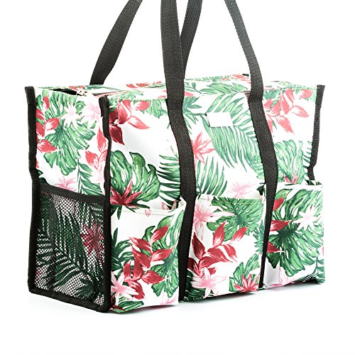 (Pursetti Teacher Tote (Aloha) - Perfect Gift for Teacher's Appreciation, Mother's Day or)