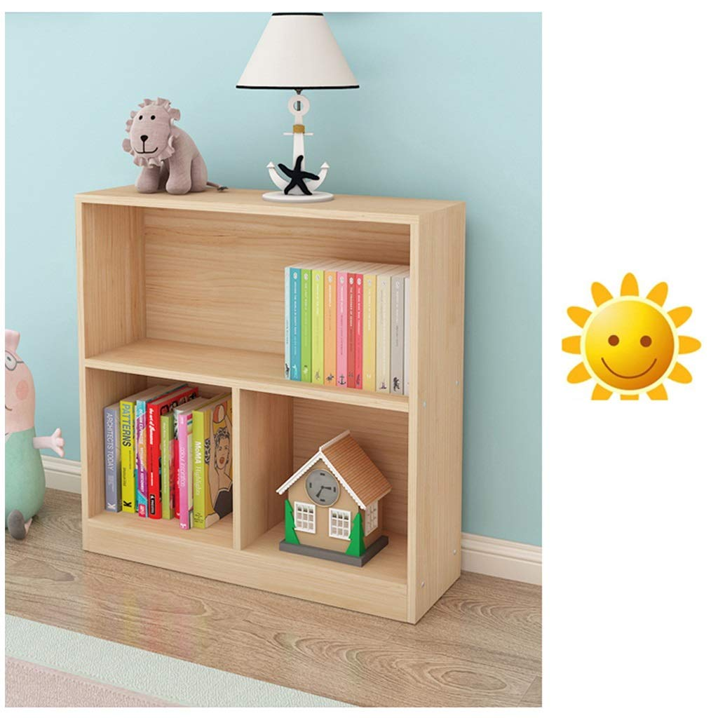 Bookcases and Shelving Units, Wooden Bookcase with Open Cubes and Shelves Easy to Assemble for Living Room Children's Rooms by CDSRB