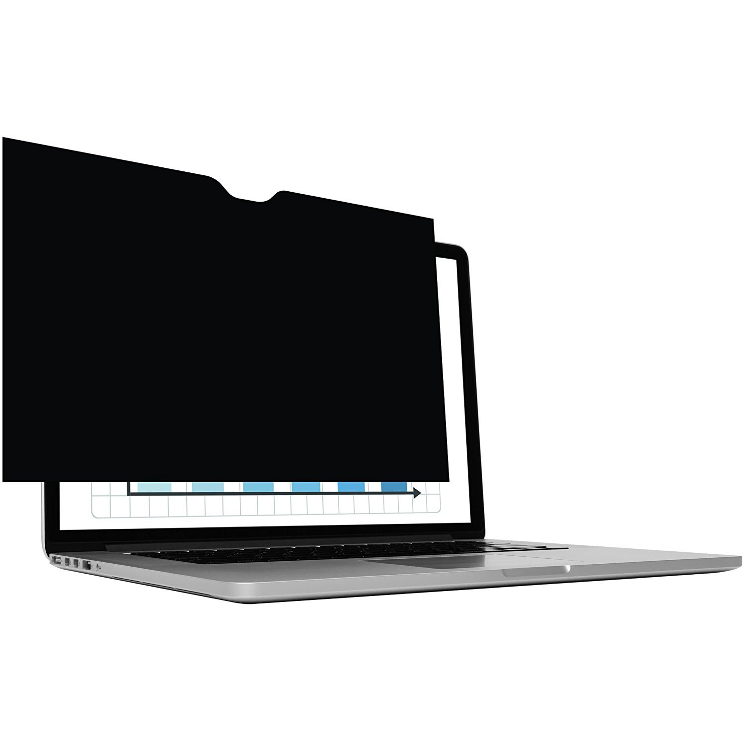 LuvCase Macbook Pro 15 Privacy Screen Protector for Newest Macbook Pro 15'' with Touch Bar A1707 (2017 & 2016 version)