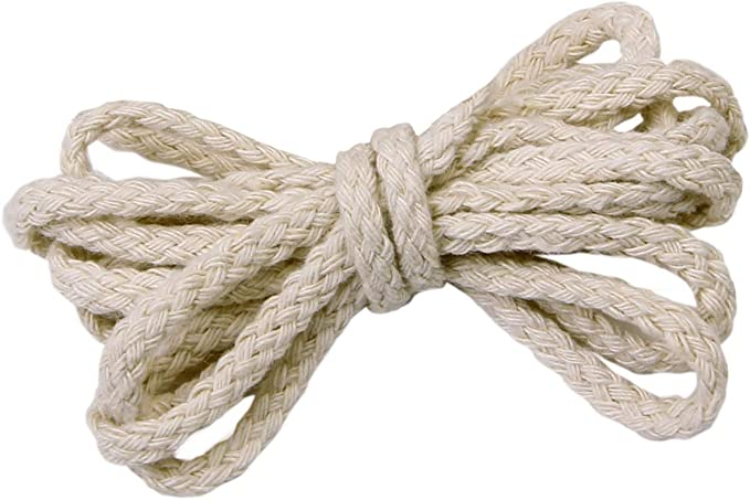Sadingo - Cordón de algodón, hilo de macramé, cordón blanco, hilo ...
