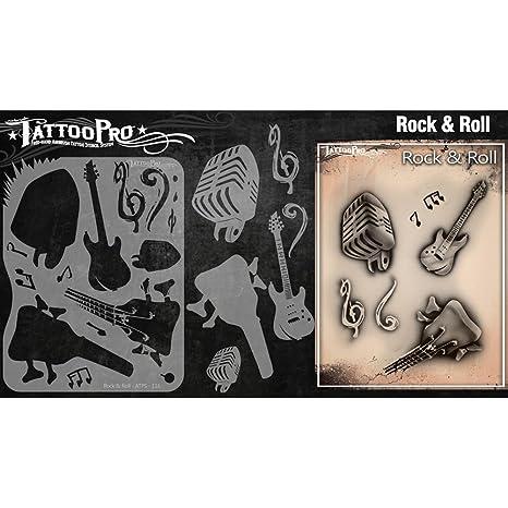 Tatuaje Pro Plantillas Serie 2 - Rock and Roll