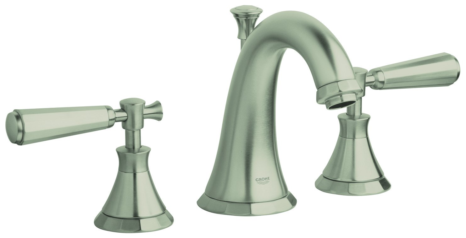 Kensington 8 in. Widespread 2-Handle Bathrrom Faucet - 1.5 GPM ...