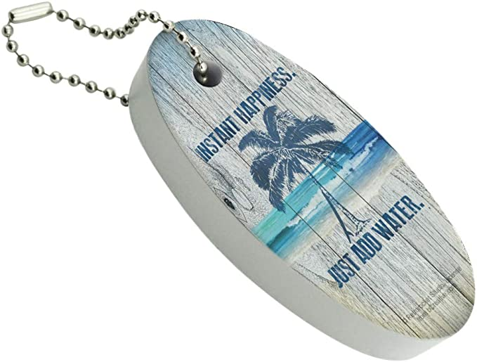 Water Life Keychain Personalized \u2022 Florida Water Lover Keychain \u2022 Latitude /& Longitude Location  \u2022  Florida GPS  \u2022  Anniversary  Wedding