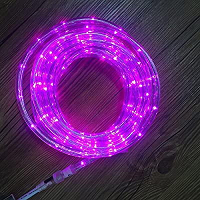 UL Certified 16 Feet 80 LED Connectable Rope Tube Light Indoor Outdoor Party Holiday Light