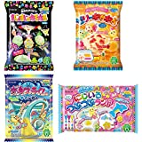 Neruneru Colorful Peace Japaneese DIY Assortment 2 Kracie Children Snack Food Ninjapo