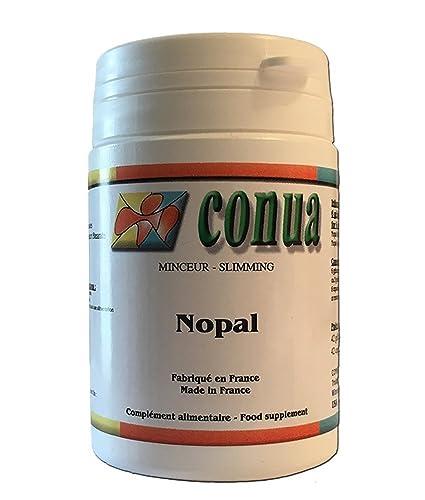 Nopal Polvo de hoja, el apetito moderador cápsula vegetal natural 500 mg pequeño tamaño muy