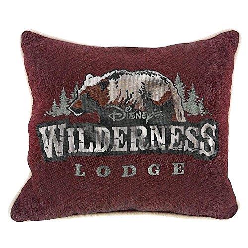 Disney Parks Wilderness Lodge Logo Throw Decorative Pillow (Wilderness Lodge)