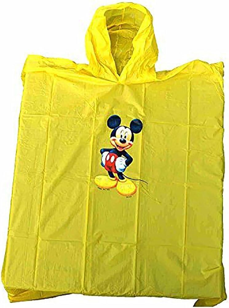 Disney Mickey Mouse Yellow Kids Poncho