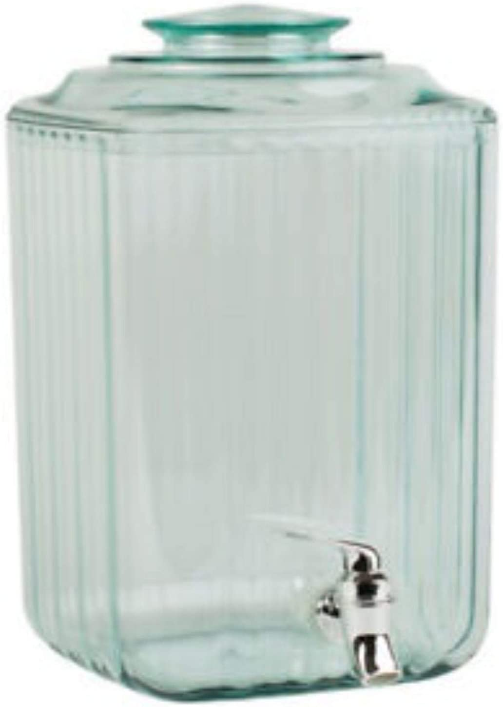 Cold Drinks Beverage Cocktails Ice Water Plastic with Tap for Outdoor Indoor Parties Weddings Juice Dispenser 7.5L