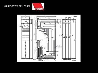 Kit Fostex Fe 108 ez
