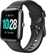 Letsfit Smart Watch, Fitness Tracker with Heart Rate Monitor, Activity Tracker