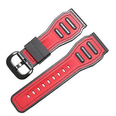 Amazon.com: Span Correas de reloj de silicona gruesa para ...
