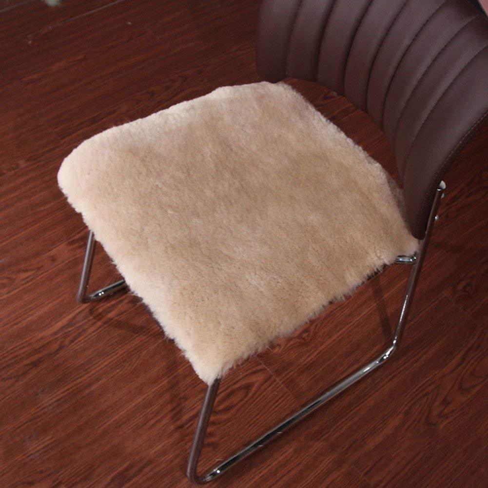 HhGold Shaggy Square, Cushion Cushion Sofa [Winter] Mantener el sólido Color sólido el y cálido para sillas de Oficina-H 45X45Cm (18X18Cm) (Color : -, tamaño : -) 02d3cc