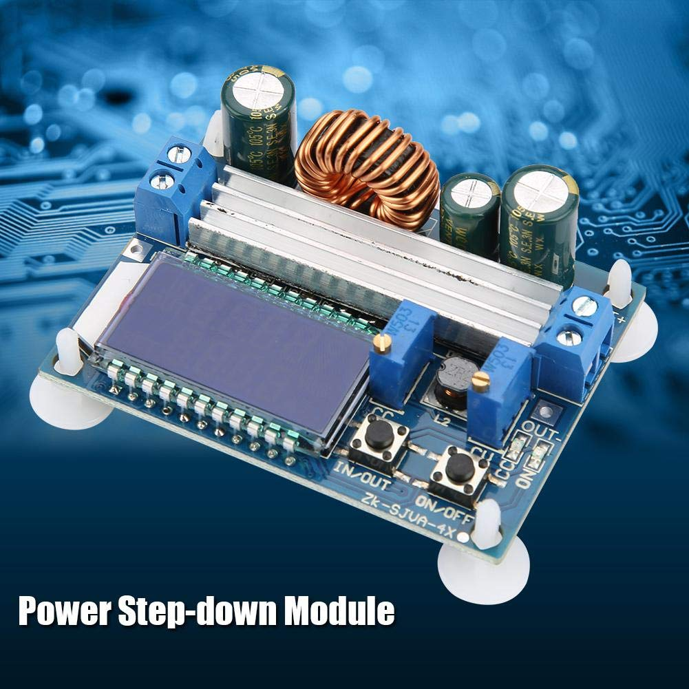 DC-DC 5.5-30V to 0.5-30V Boost//Reduce Voltage Regulator Module with 4 Plastic Supports Automatic Step UP//Down Converter