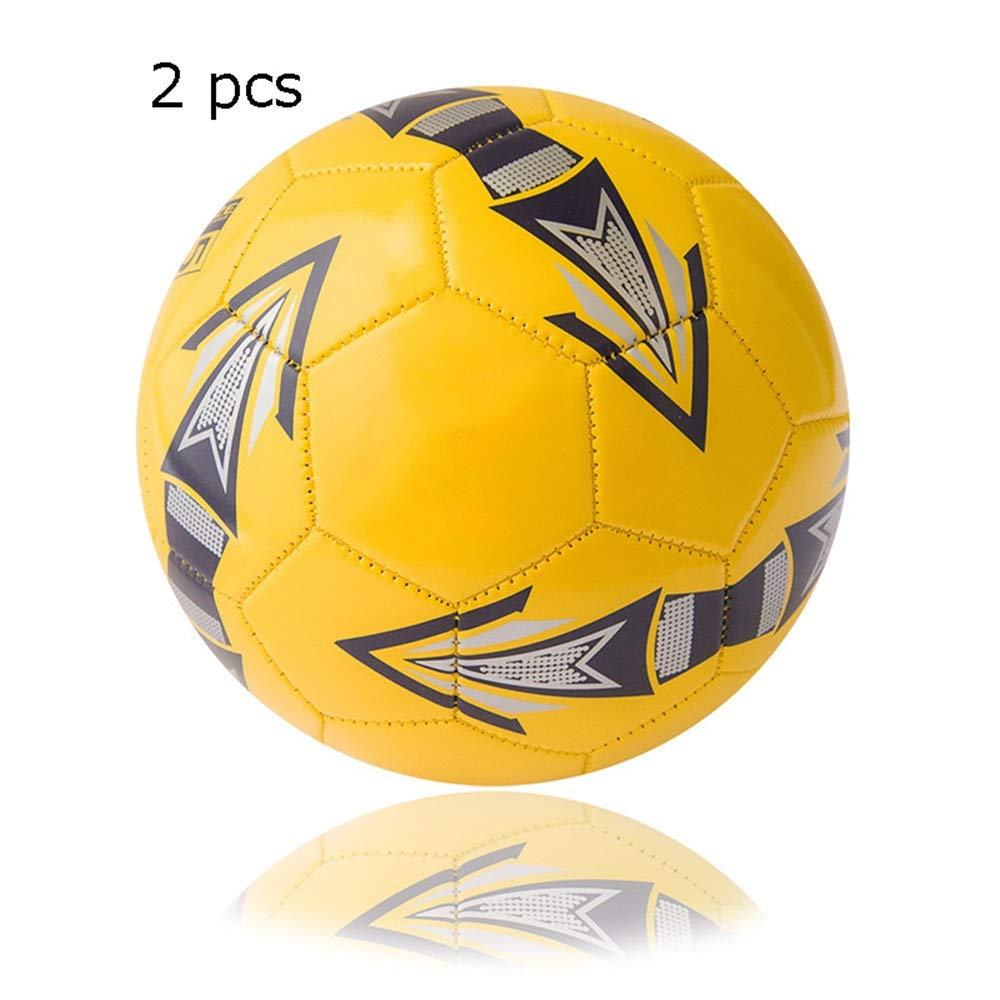 Jajx-os Kids Toys Soccer Children's Primary School Girls Boys Soccer Ball Adult Indoor and Outdoor Training Competition Football Official Size 5 4 for Outdoor Sport (Color : C2, Size : 5) by Jajx-os