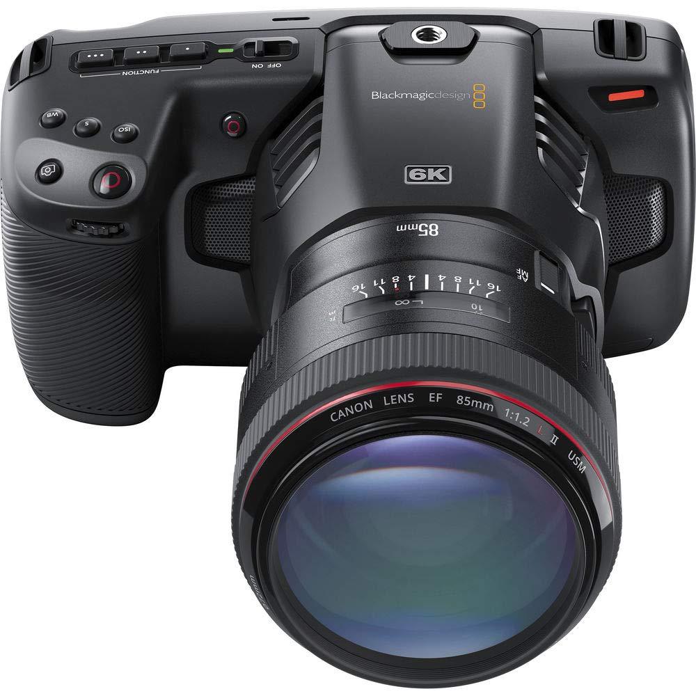 Blackmagic Design - Cámara de Cine de Bolsillo 6K (Canon EF) con ...