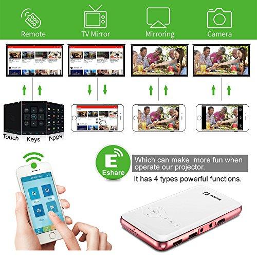 Aodin Mini Smart Android Pico Projector