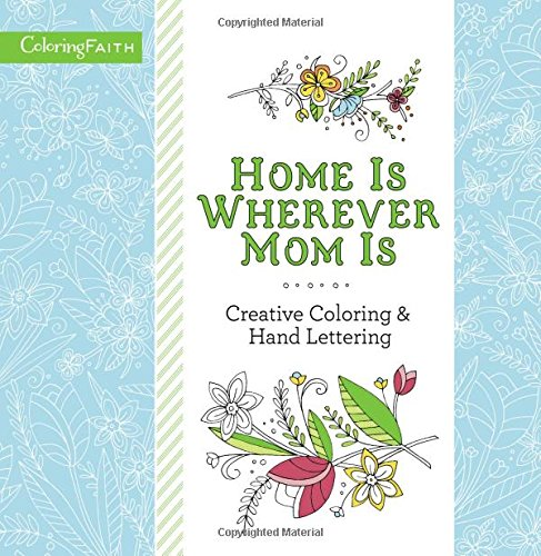Home Wherever Adult Coloring Book