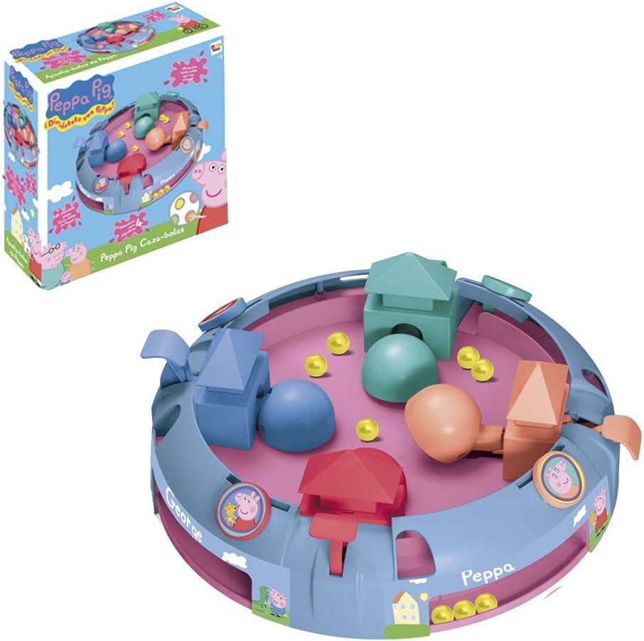 IMC Toys 646595 - Peppa Pig Juego Cazabolas: Amazon.es: Juguetes y juegos