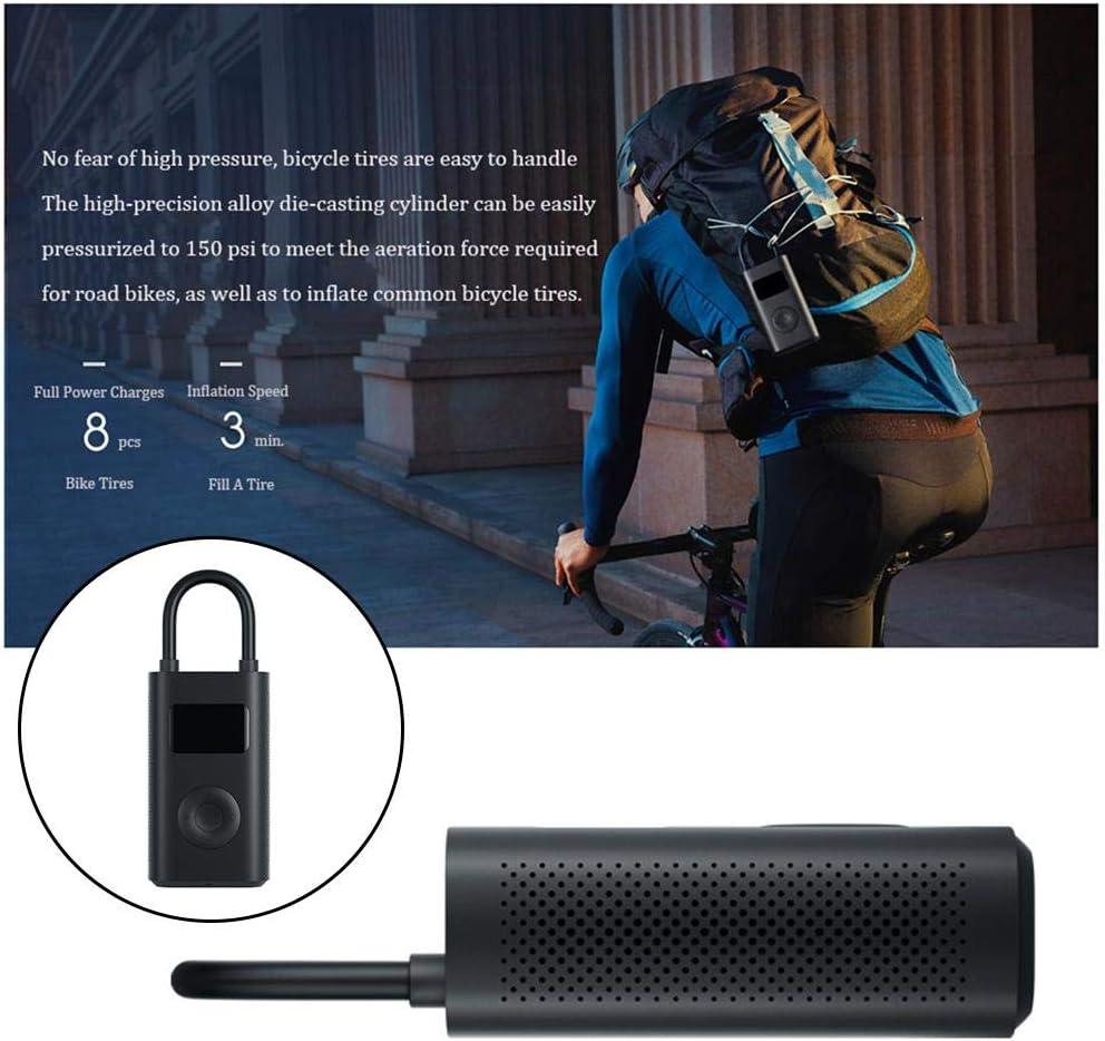 USB Recargable morpilot Mini Compresor Aire Coche Portatil 4 Modos Preestablecidos /& 1 Personalizado para Neum/áticos de Coche Moto Bici Otros Inflables Bomba Bicicleta El/éctrico con Pantalla LCD