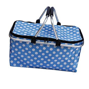 Amazon.com : zhbotaolang Insulated Picnic Basket Waterproof ...