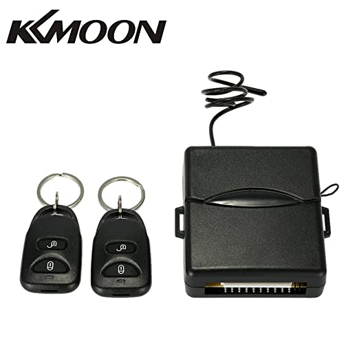 KKmoon Cerradura Central Remota de Coche para Sistema de Entrada sin Llave con Control Remoto