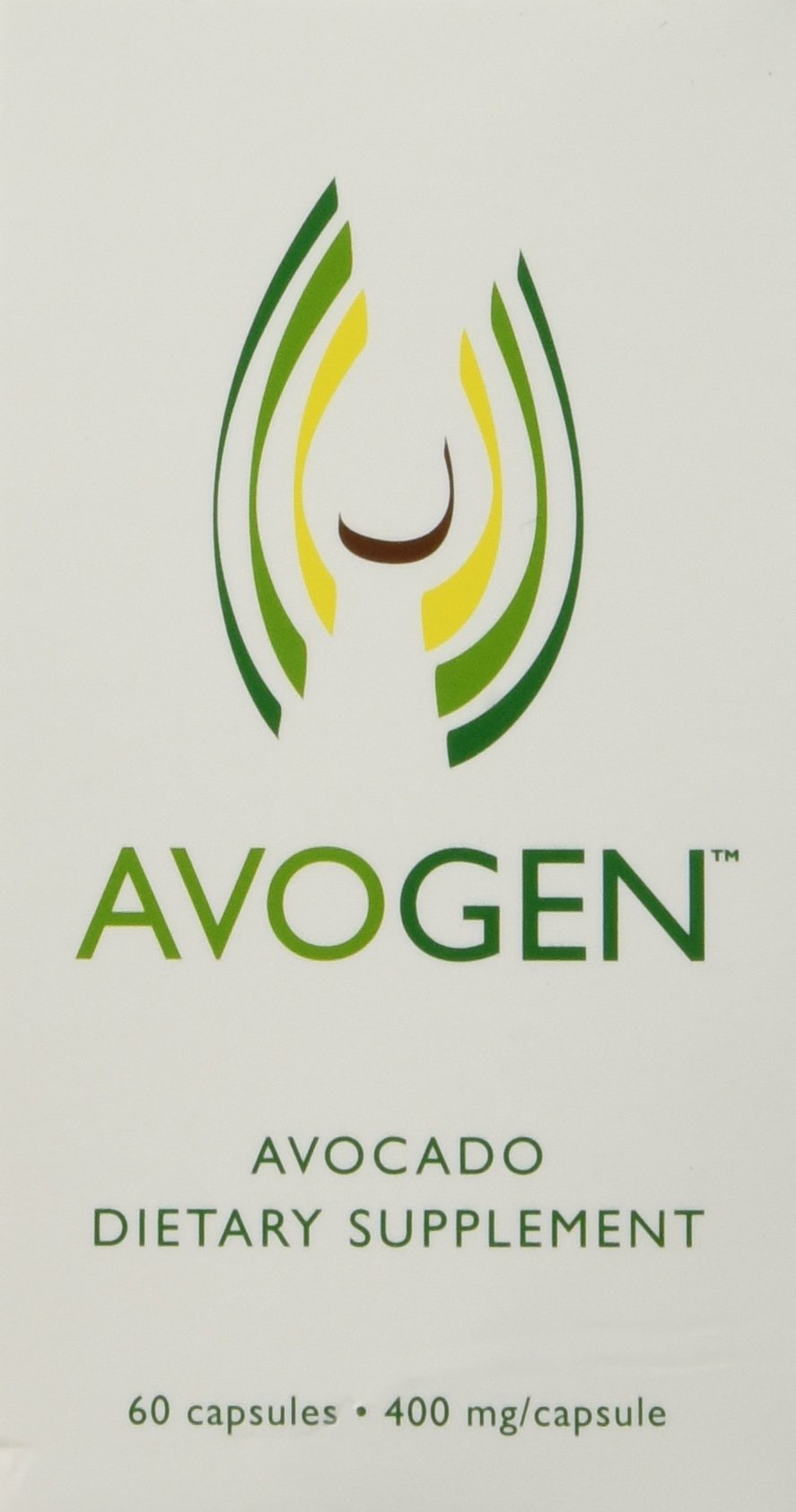 Avogen Avocado Dietary Supplement,60 capsules,400mg/capsule