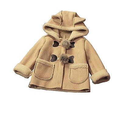 Amazon.com: Abrigos de invierno para bebé, chaquetas con ...