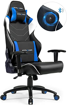 GTPLAYER Silla Gaming con Altavoces Bluetooth Música ...