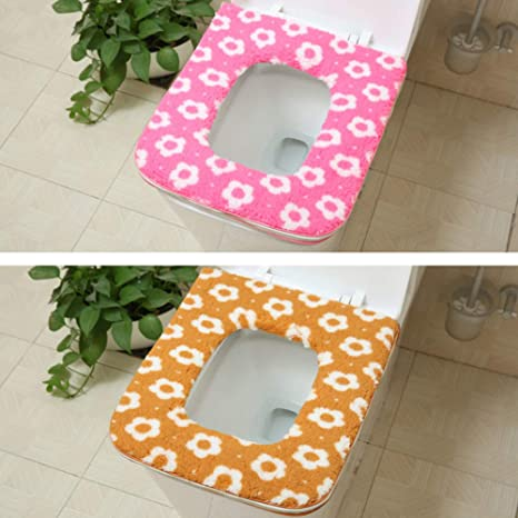 Stupendous Amazon Com Lililili 1Set 2Pcs Toilet Cushion Thicken Squirreltailoven Fun Painted Chair Ideas Images Squirreltailovenorg