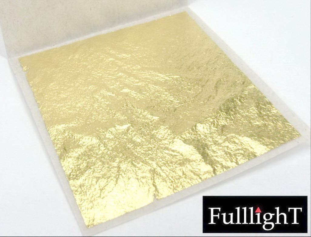 Metal working 24 karat 1.5 x 1.5 Arts /& Crafts Beauty /& Spa Foods /& Bakery decoration /& Gold powder Thai tradition gold leaf sheet selected grade 999//1000 FL03 10 Pcs Decoration