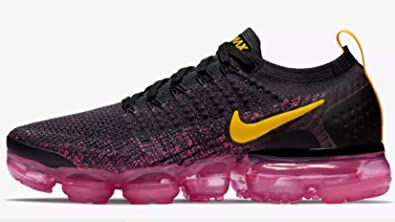 sports shoes 75c79 94abd NIKE Women's Air Vapormax Flyknit 2 Running Shoes (Pink/Black, 6 M US)