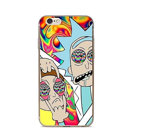 Image Unavailable. Image not available for. Color  Phone case Mort and Rick  Design for iPhone 6 Plus ... 875565e21d7