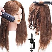 """SILKY Real Hair Mannequin Head 12-22"""""""