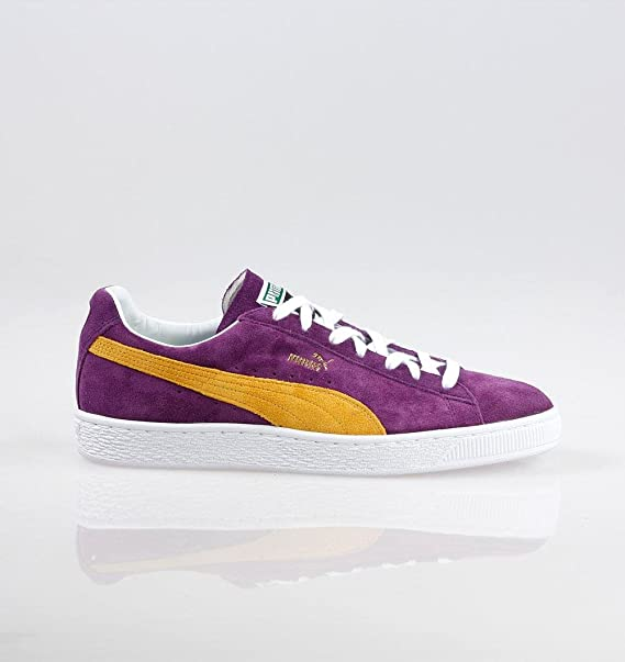 PUMA Suede 50 Collectors Classic Suede Heliotrope/Spectra Yellow 366247