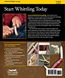 Complete Starter Guide to Whittling: 24 Easy Projects You Can Make in a Weekend (Beginner-Friendly Step-by-Step Instructions, Tips, & Ready-to-Carve Patterns to Whittle Toys & Gifts)
