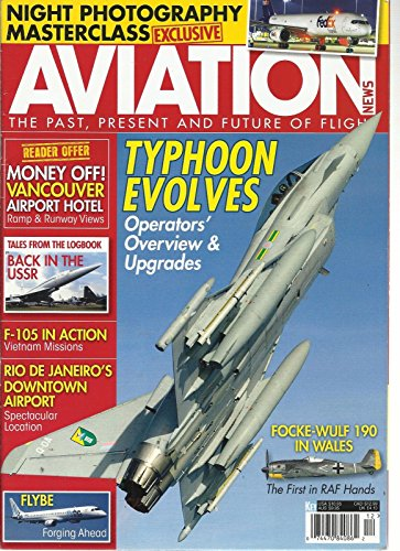 - AVIATION NEWS, 2012 (THE PAST, PRESENT AND FUTURE OF FLIGHT) TYPHOON EVOLVES