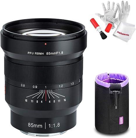 Viltrox 85mm F1.8 FE SLR Tele - Objetivo para cámara Sony E-Mount ...