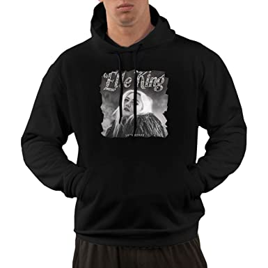 4ed4ed68 Amazon.com: ElijahO Elle King Love Stuff Men's Hoodies Hooded Sweatshirt  with Pocket Black: Clothing
