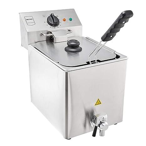 Metro Professional eléctrica fritura gdf3008 | Single | 8 L | 3250 W ...