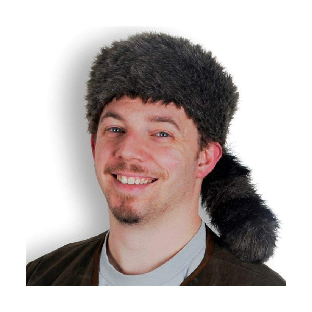 74bf791eea0 Amazon.com  Bargain World Coonskin Cap (with Sticky Notes)  Home   Kitchen