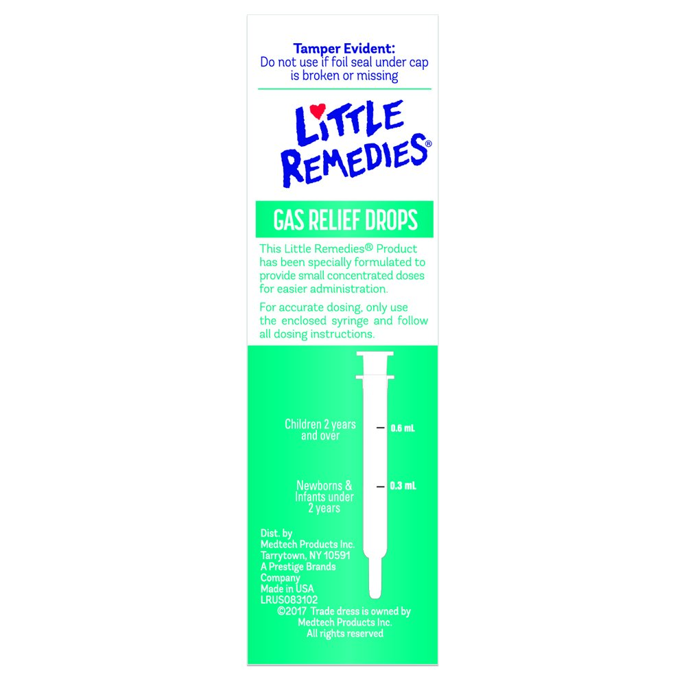 Amazon Little Remedies Gas Relief Drops Natural Berry Flavor
