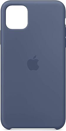 Apple Coque en Silicone (pour iPhone 11 Pro Max) - Bleu d'Alaska