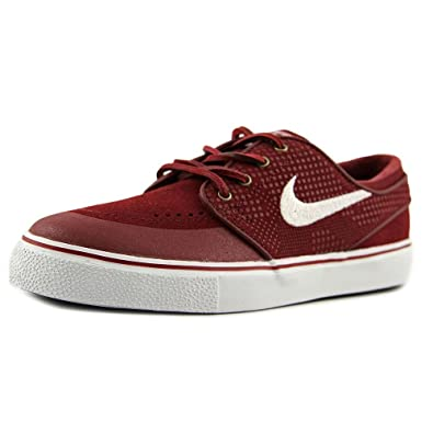d91e137505c7 Nike Men s Stefan Janoski Pr Se Classic Lace-Up Half Shoe red Size  3.5