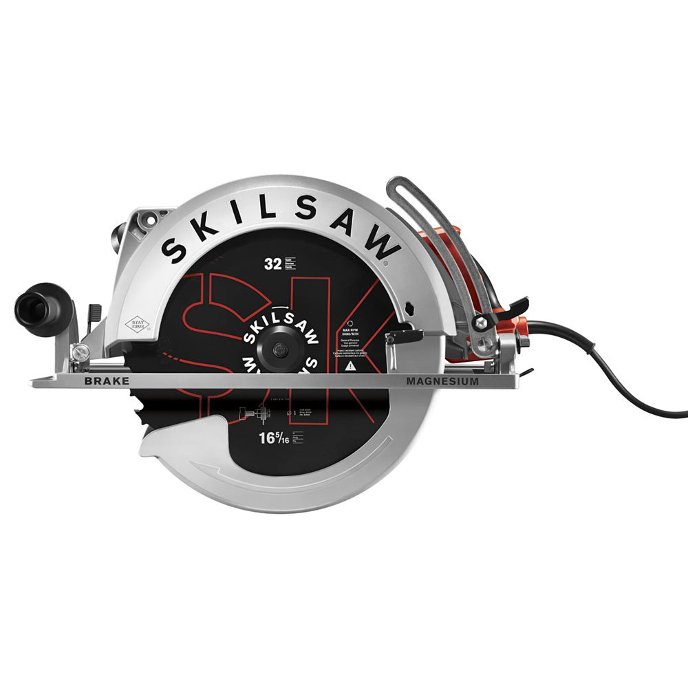 "SKILSAW SPT70V-11 SUPER SAWSQUATCH 16-5/16"" Worm Drive Circular Saw"