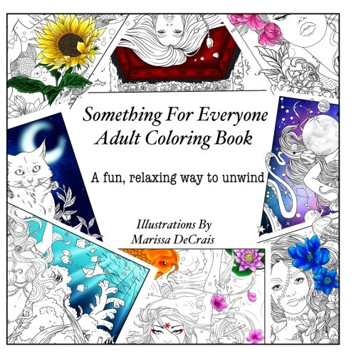 Download Something For Everyone: Adult Coloring Book (Adult Coloring Books) (Volume 1) pdf