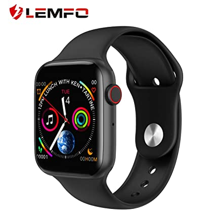 Amazon.com: W34 ECG Smart Watch Female Fitness Tracker, IP67 ...