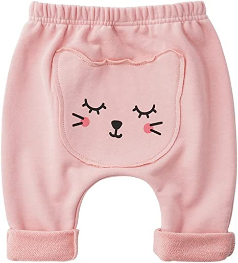Bebé Pantalones De Chándal Pantalones Deportivos Algodón Harem Jogging 3-6 Meses: Amazon.es: Bebé