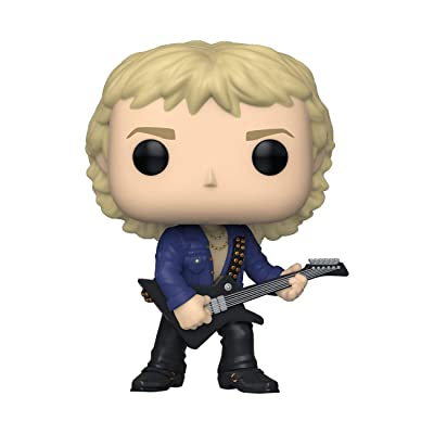 Funko Pop! Rocks: Def Leppard - Phil Collen, Multicolor: Toys & Games