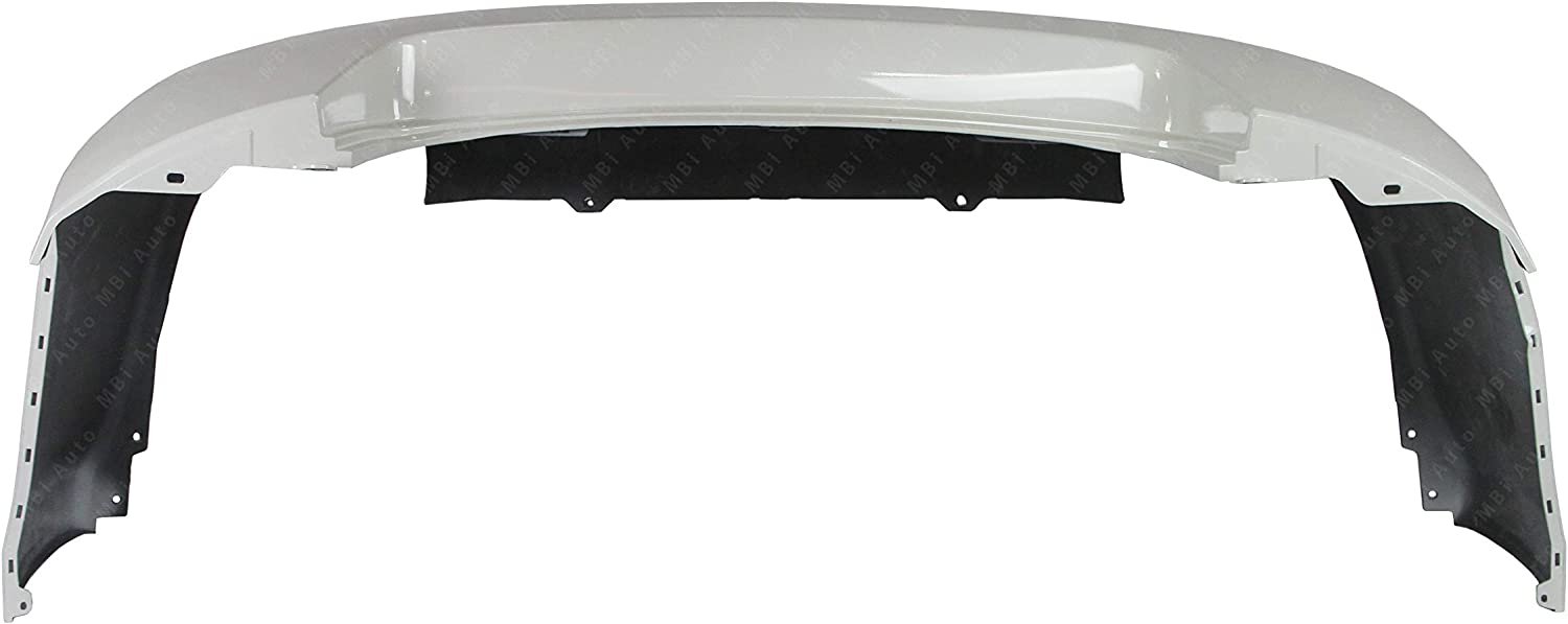 NI1100248 BUMPERS THAT DELIVER Rear Bumper Cover Replacement for 2007-2012 Nissan Altima Sedan 07-12 Painted QX3 White